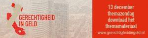 Gerechtigheid in Geld zondag banner 460x120px